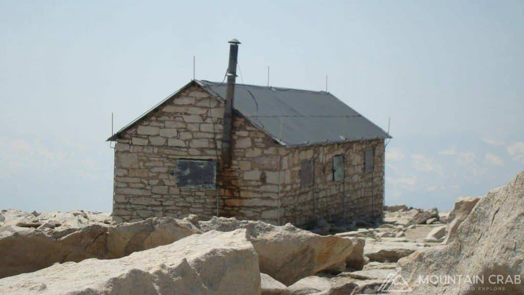 Summit Hut on the Summit of Mt. Whitney