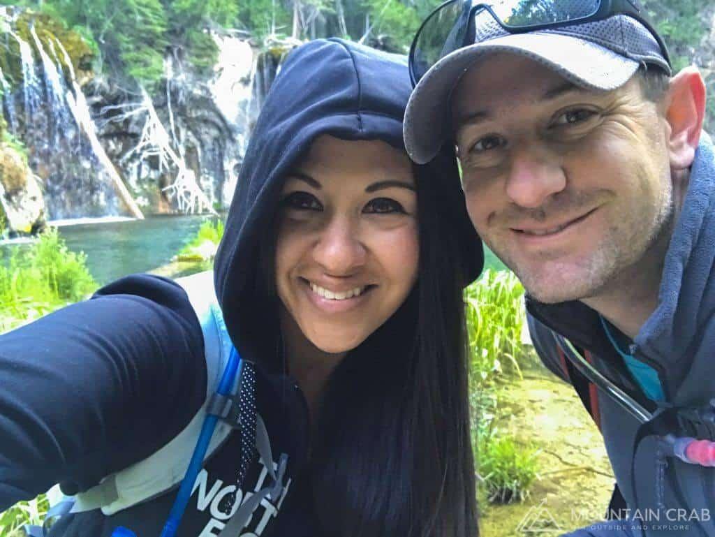 Matt and Christina at Hanging Lake